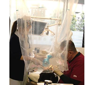 当院では空間除菌をしています